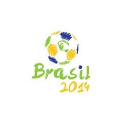 brasil 2014 vector image vector image