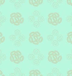 Phytoplankton seamless pattern vector