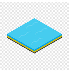 Sea isometric icon vector