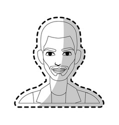 Young handsome man icon image vector