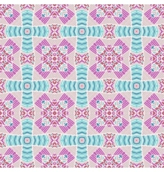 abstract geometric tiles seamless background vector image
