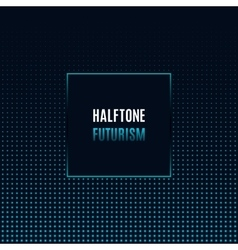 Geometric frame with light effects design template vector