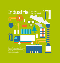 Industrial background design decorativ vector