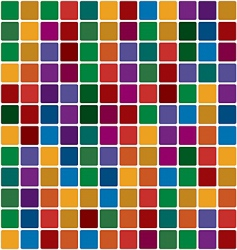 polychromatic mosaic vector image vector image