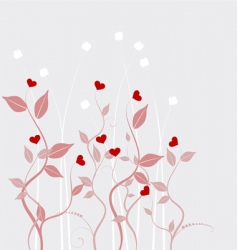 Valentines day abstract vector