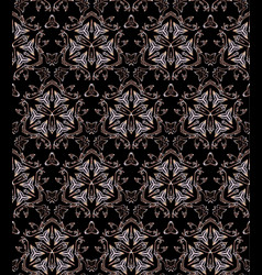 Golden luxury seamless pattern vector