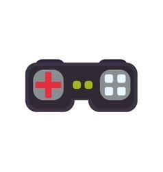 control pixel video game play icon graphic vector image vector image