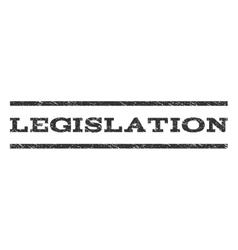 Legislation watermark stamp vector
