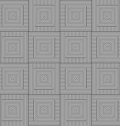 Square black white pattern vector