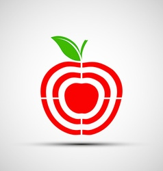 target Stock vector image