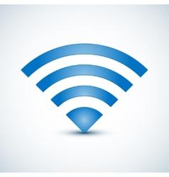 Wireless Nerwork Symbol vector image vector image