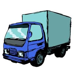 Mall truck vector