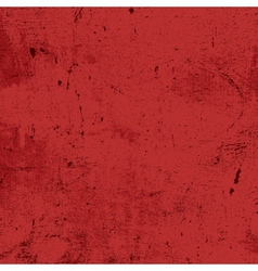 Red messy grunge texture vector