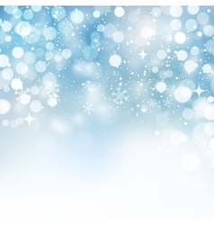 Christmas snowflakes background vector