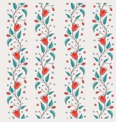 Bellflower floral element wedding design vector