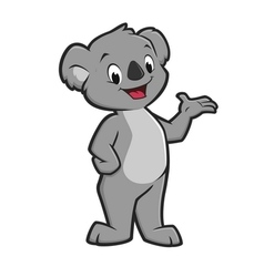 Cartoon Koala vector image