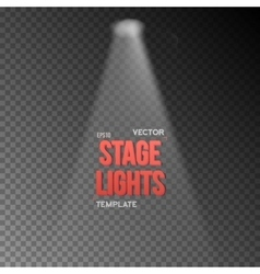 Eps10 bright stage light effect stage vector