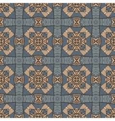 seamless geometric mosaic surface vector image vector image
