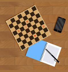 strategy and business tactic vector image vector image