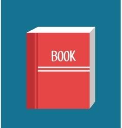 icon book read design vector image
