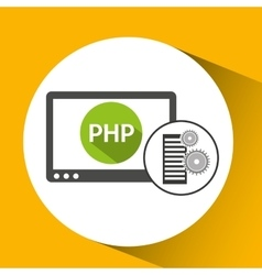Database setting php computer web vector