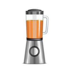 realistic 3d kitchen blender vector image vector image