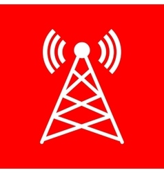 Antenna sign vector image vector image