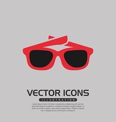 Beach icon design vector