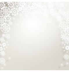 Elegant background with snowflakes EPS 10 vector image