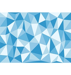 Soft Blue Triangles Background vector image vector image