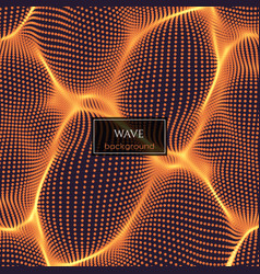 wavy abstract vector image vector image