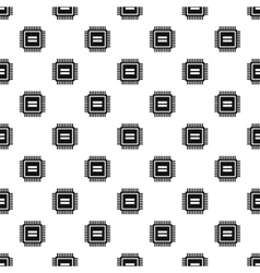 Processor pattern simple style vector