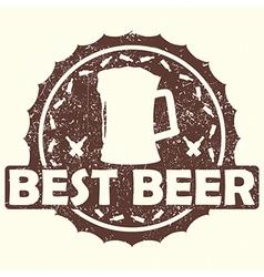 Best beer vector
