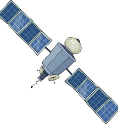 satellite vector image