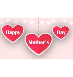 Happy mother day for you design vector