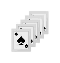 Ace spades magician show vector