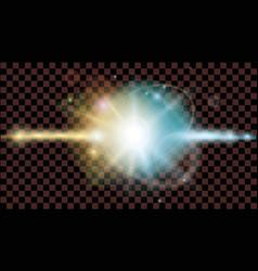 Design flash on a black transparent background vector