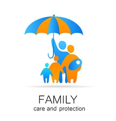 family care protection vector image vector image