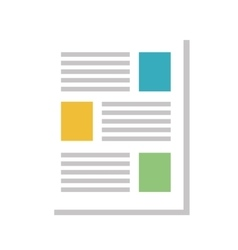 file document page vector image