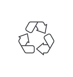 recycle green symbol environmental protection vector image