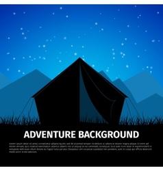 Adventure background vector image