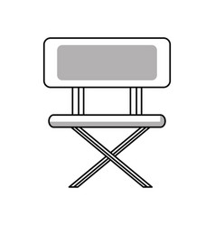 chair icon image vector image