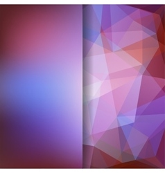 Geometric pattern polygon triangles vector