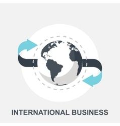International Business vector image