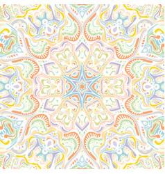 Mandala arabic vintage seamless pattern vector