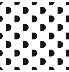 Button pattern simple style vector