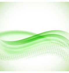 Abstract modern halftone green background vector