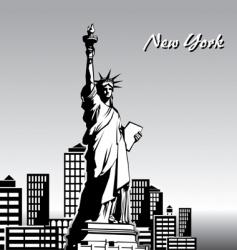 ney york vector image