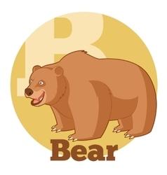 Abc cartoon bear2 vector