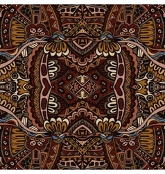 Abstract vintage grunge ethnic tribal design vector